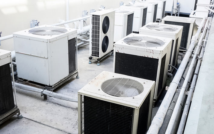 Advantages of a heat pump air-con