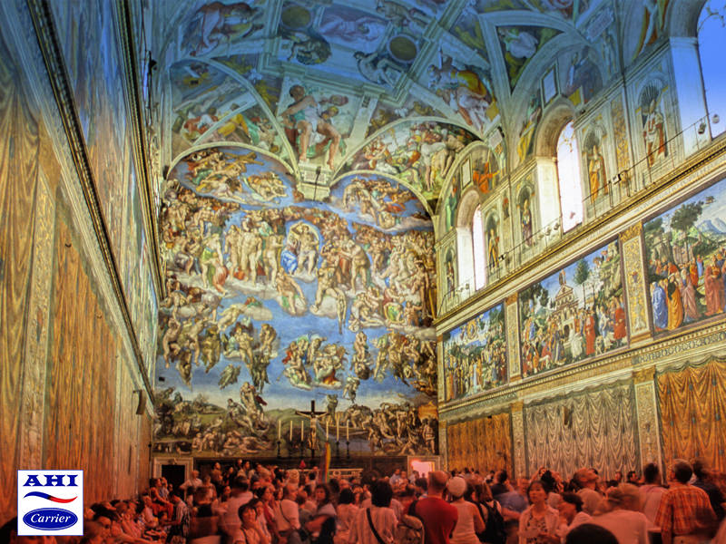 Humidity Control Experts Save the Sistine Chapel