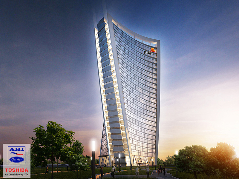 The PWC Tower – Where Environmentally Friendly Design and Superior HVAC Systems Reside.